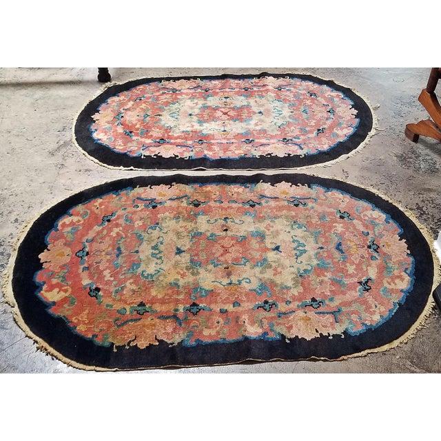 Art Deco Helen Fette Oriental Floor Rug Medium2 For Sale - Image 4 of 5