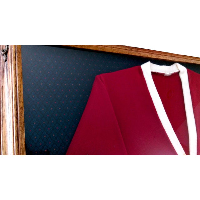 """Framed Varsity Letterman's """"B"""" Sweater - Image 8 of 9"""