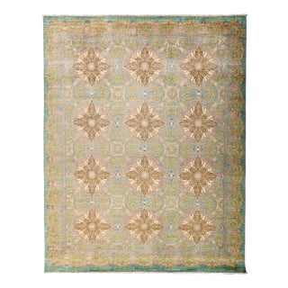 "New Hand-Knotted Wool Rug - 9'2"" X 11'5"""