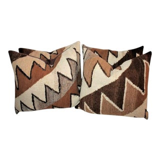 Geometric Handwoven Indian Weaving Pillows