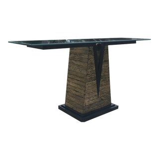 1980s Art Deco Console Table For Sale