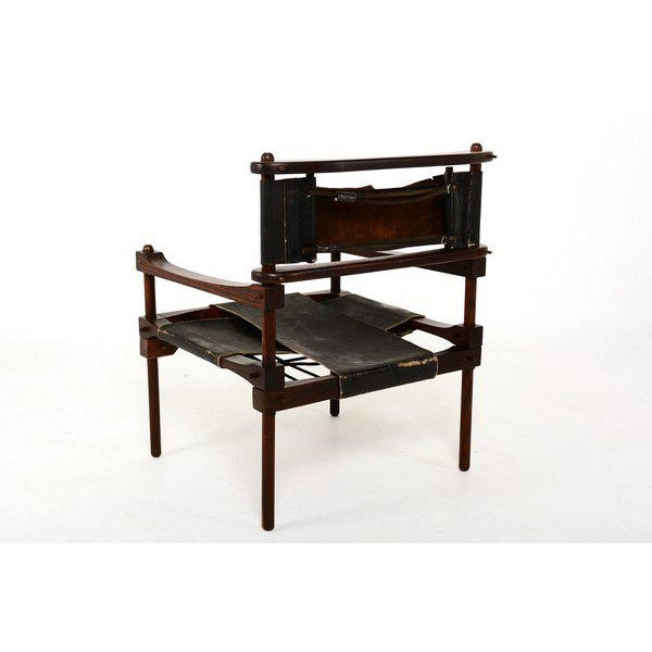 1950s Mexican Modernist Don Shoemaker Perno Chair For Sale - Image 5 of 6