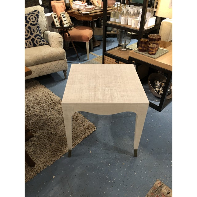 Brass Hollywood Regency Highland House Clayton End Table For Sale - Image 7 of 8