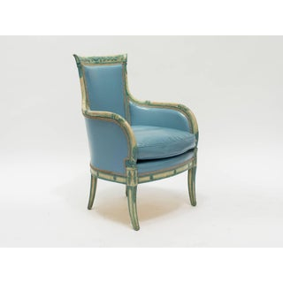 1950s Vintage Painted Regency Style Armchair Preview