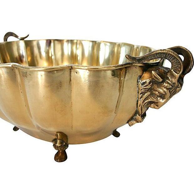 Brass Rams Head Bowl - Image 5 of 5