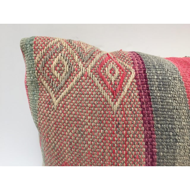 Mid 20th Century Moroccan Pastel Colors Bohemian Throw Pillows For Sale - Image 5 of 13