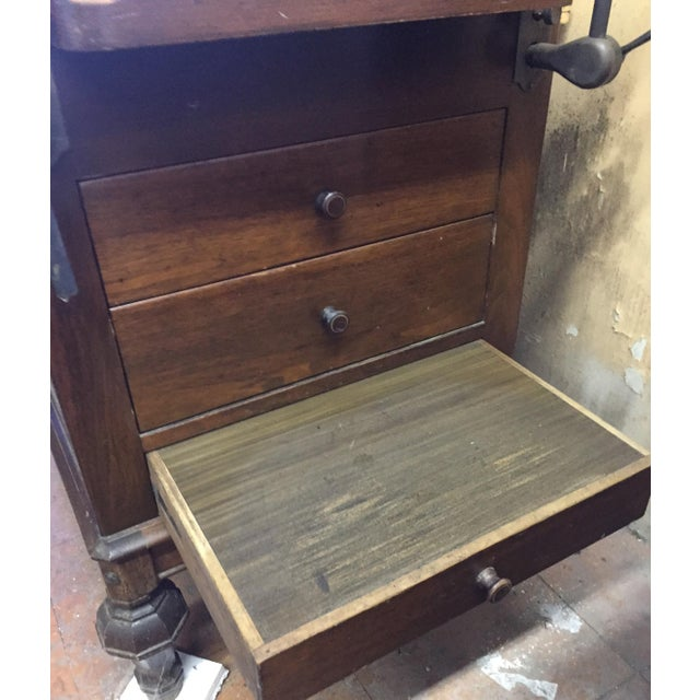 1930s Hamilton Mfg Physicians Exam Cabinet Table For Sale - Image 11 of 11