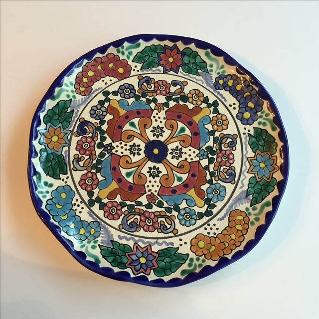 Mexican Pottery Platter For Sale In Birmingham - Image 6 of 9
