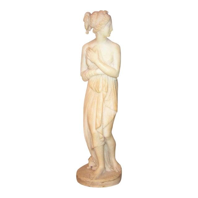 19c Italian Marble Figurine of Venus For Sale