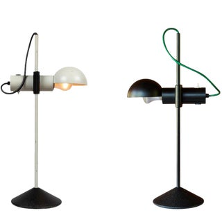 1980s Italian Barbieri & Marianelli for Tronconi Table Lamps - a Pair For Sale