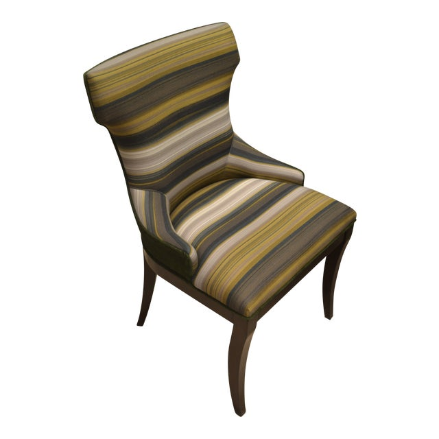 Addison Club Dining Chairs - Pair For Sale