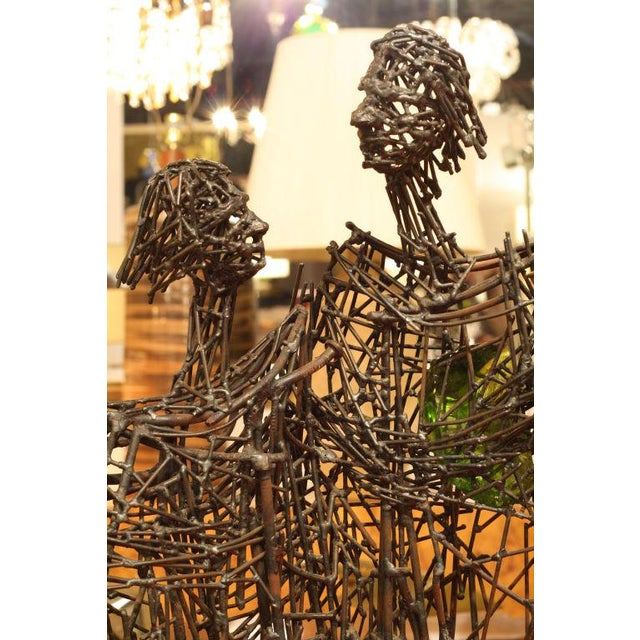 Heart of Glass Figurative Nail Sculpture - Image 6 of 9