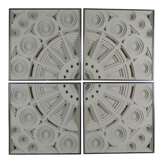 Greg Copeland Wall Sculptures - Set of 4