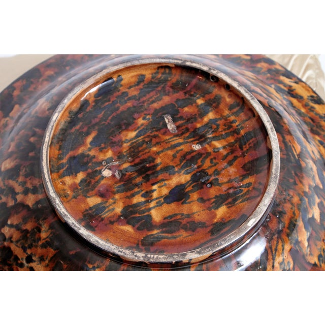 Large Palissy Charger by Victor Barbizet, Circa 1875 For Sale - Image 9 of 11