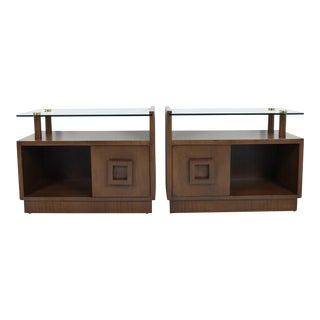 Gilbert Rohde Nightstands- A Pair For Sale