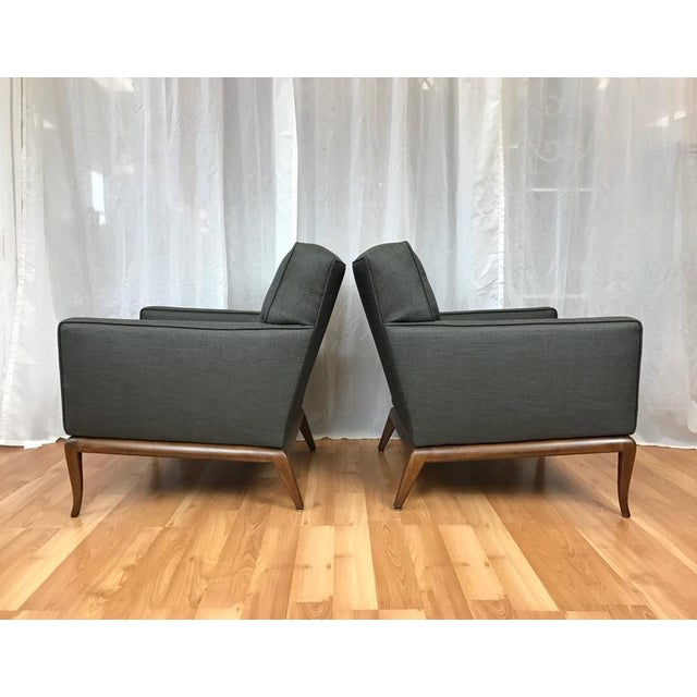 Robsjohn-Gibbings for Widdicomb Lounge Chairs - A Pair - Image 4 of 9
