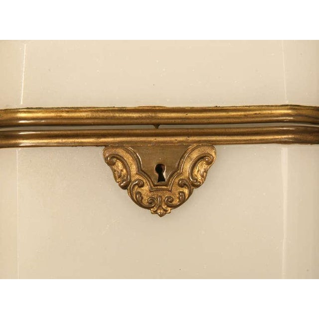 Gold Circa 1900 French Opaline Glass Box For Sale - Image 8 of 10