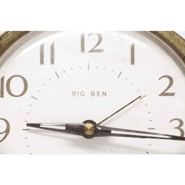 Traditional Westclox Big Ben Plastic & Brass Alarm Clock For Sale - Image 3 of 11