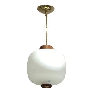1960s Italian Pendant Light Fixture For Sale