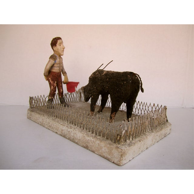 French Folk Art Bullfighter - Image 3 of 8