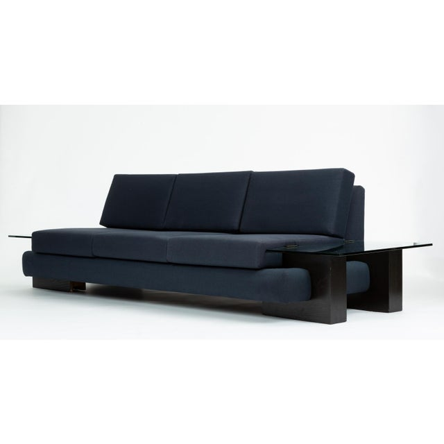 Tremendous American Made Sofa With Glass End Tables By Kroehler Lamtechconsult Wood Chair Design Ideas Lamtechconsultcom