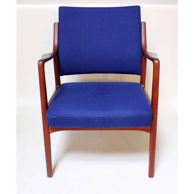 Mid-Century Modern 1960s Swedish Modern Teak Lounge Chair For Sale - Image 3 of 11