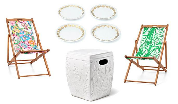 Lilly Pulitzer For Target Ceramic Garden Stool   Image 3 Of 3