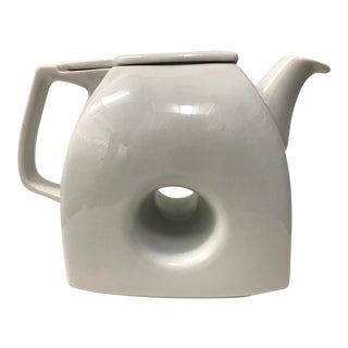 1960's Japanese Pop Art Porcelain Teapot For Sale