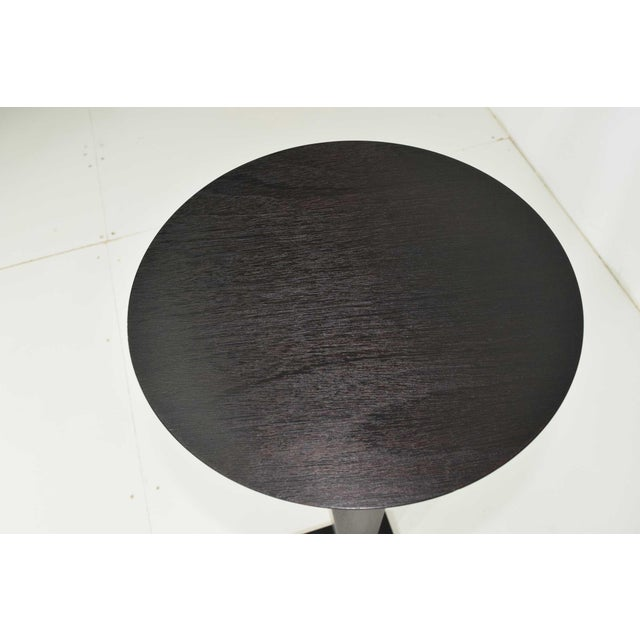 Modern Christian Liaigre for Holly Hunt Ebony Oak Pedestal For Sale - Image 3 of 7