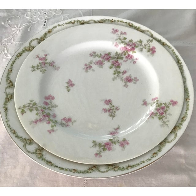 Limoges, France Vintage China Table Setting For Sale - Image 4 of 10