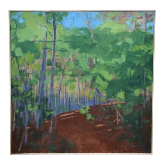 "Contemporary Landscape Painting, ""Late Afternoon"", by Stephen Remick For Sale"