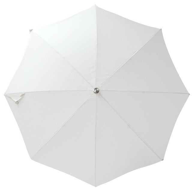 """The Premium Beach Umbrella in Antique White redefines the word """"chic"""". Our best selling umbrella across the board, has you..."""