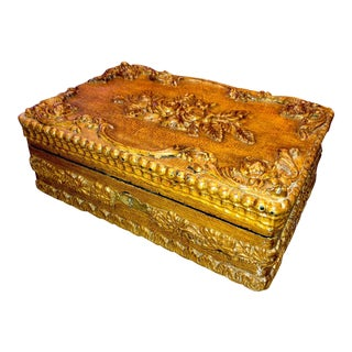Antique Black Forest Sewing/Jewelry Box For Sale