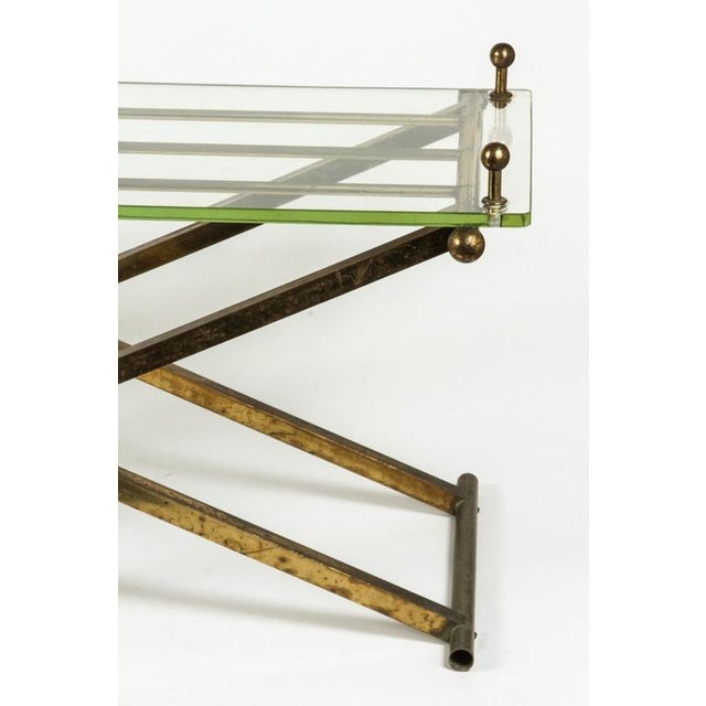 Brass & Glass Tray Coffee Table - Image 2 of 8