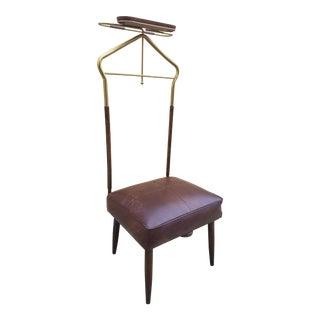 1960s Mid-Century Modern Valet Butler Chair For Sale