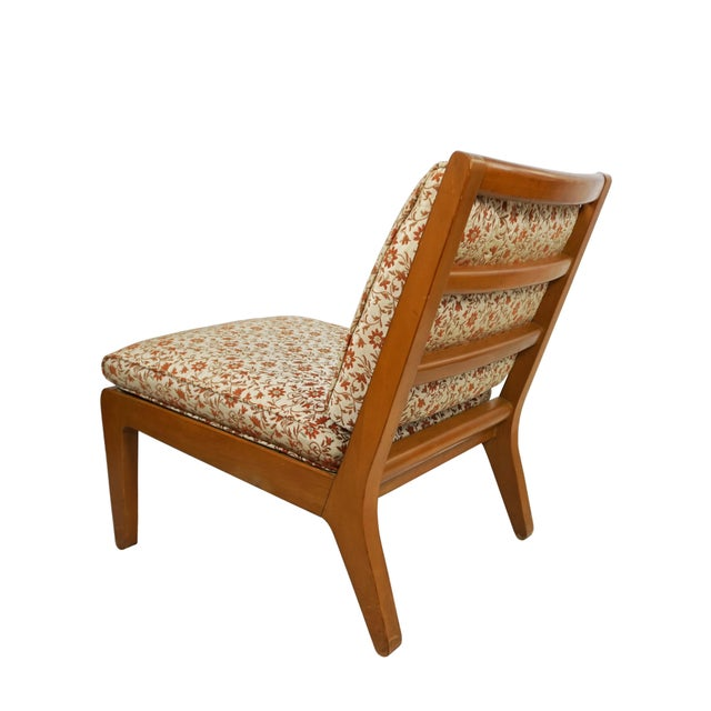 """Mid Century Edward Wormley Drexel """"Precedent"""" Slipper Chairs - a Pair For Sale In Washington DC - Image 6 of 8"""