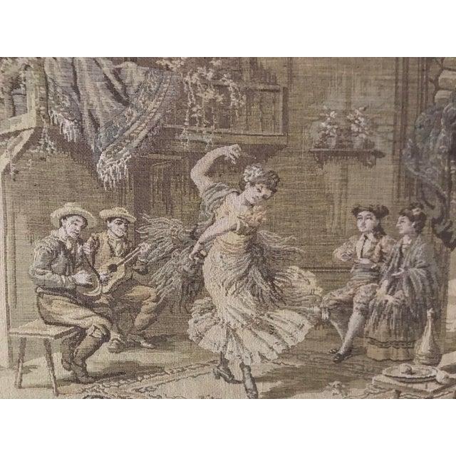 Framed Vintage Tapestry - Image 2 of 5