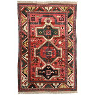 RugsinDallas Hand Knotted Wool Chinese Rug - 5′8″ × 8′8″ For Sale