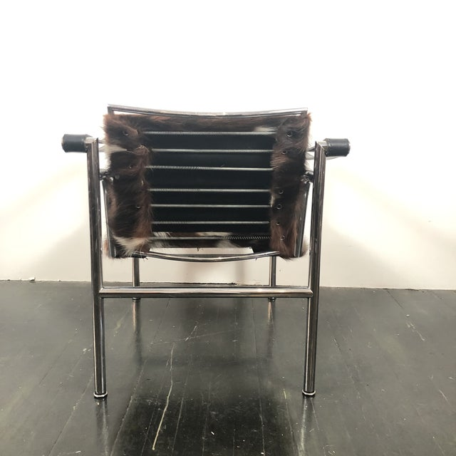 1970s Vintage Le Corbusier Cassina Lc1 Chair For Sale - Image 5 of 13