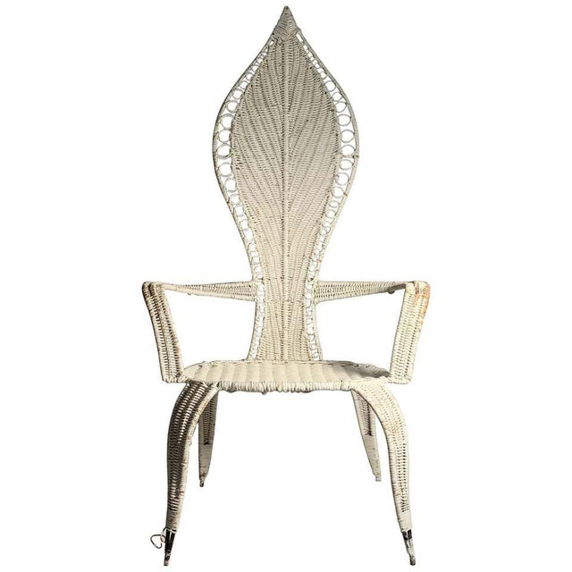Tropi-Cal Danny Ho Fong and Miller Fong Mid-Century Modern Garden Patio Chair For Sale - Image 9 of 9