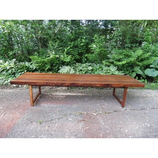1960s Mid Century Modern Milo Baughman for Thyer Coggin Rosewood Bench/Coffee Table Preview
