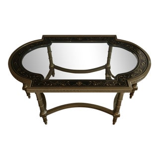 Neoclassical John Widdicomb Cocktail Table For Sale