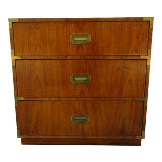 Vintage Dixie Campaign Style Bachelor Chest For Sale