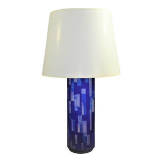 Bungalow 5 Colburn Lamp in Blue For Sale