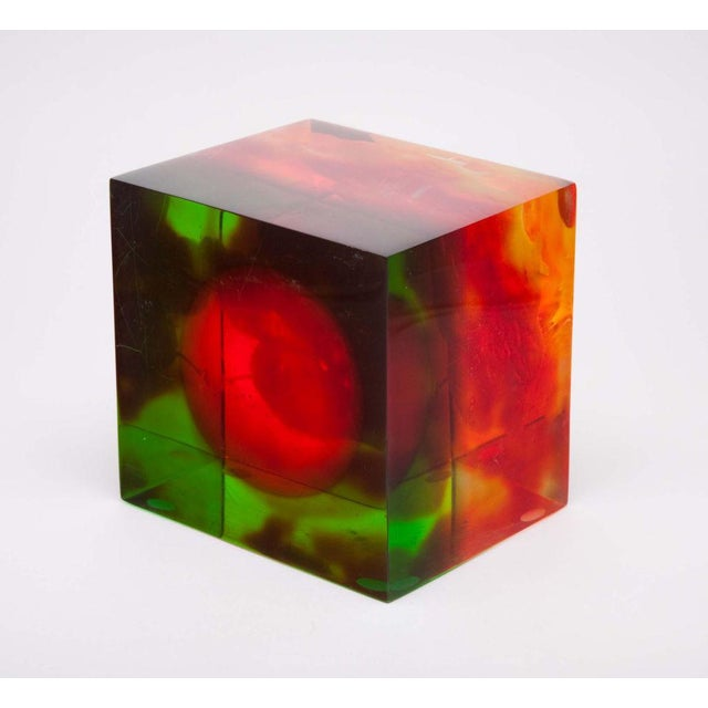Acrylic Rainbow Sculpture by Dennis Byng - Image 3 of 4