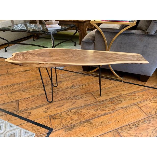 Bob Baker Custom Live Edge Northern Spruce Coffee Table Chairish
