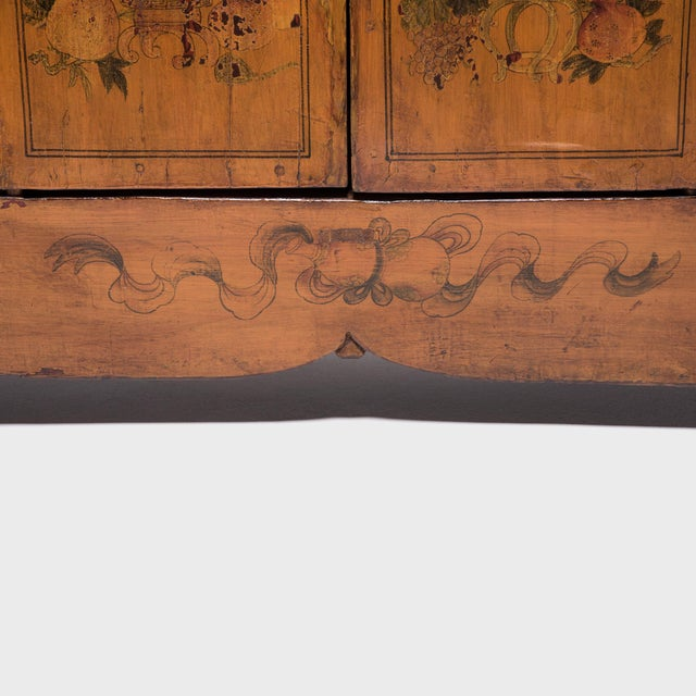 Qilin Painted Coffer For Sale - Image 9 of 10