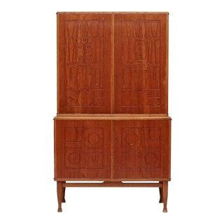 Yngve Ekström 'Krus' Cabinet by Westbergs Möbler, Sweden, 1950s For Sale