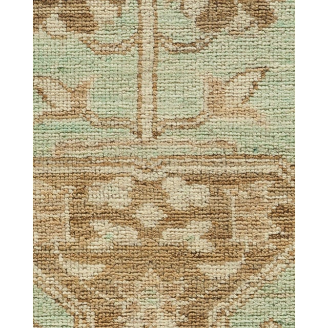 "Islamic Oushak Hand Knotted Area Rug - 8'5"" X 9'9"" For Sale - Image 3 of 4"