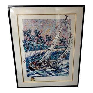 Expressionist Michael Bryan Fine Art Print - 39x49 For Sale